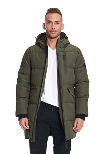 Alpine North Mens Vegan Down Winter Puffer Coat
