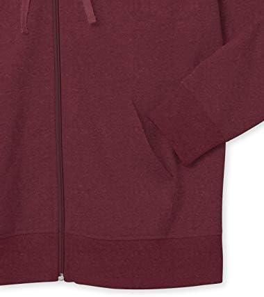 Amazon Essentials Women's Plus Size French Terry Fleece Full-Zip Hoodie