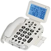 LS&S Big Button Telephone with Extra Large, Talking Caller ID - BDP400