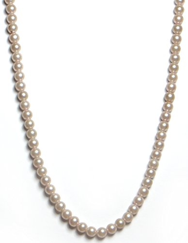 ure Coated Pearl 1 Line String/Necklace - Fashion Beads String by Jewellers ()