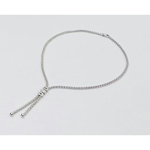 Collier Ines Fope 715 frbbr or blanc diamant