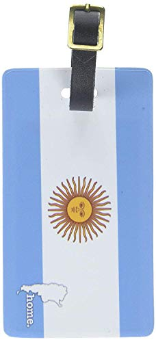 Graphics & More Argentina Home Country Luggage Suitcase Id Tags-Flag, White