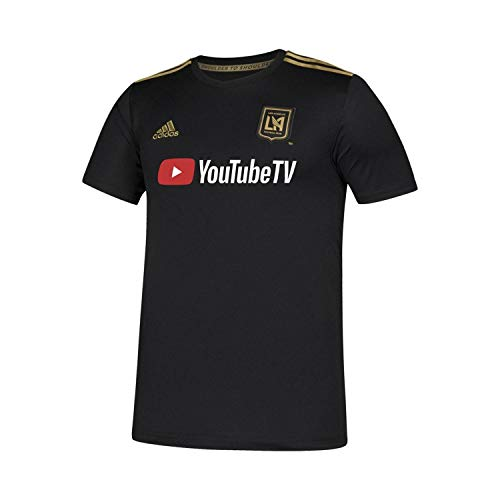 adidas Youth Los Angeles Football Club Home Soccer Stadium Jersey (YXL) ()