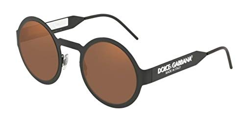 Dolce & Gabbana 0DG2234 Gafas de sol, Matte Black, 51 para ...
