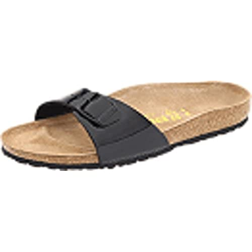 Birkenstock Madrid Damen, Black, 36 N EU