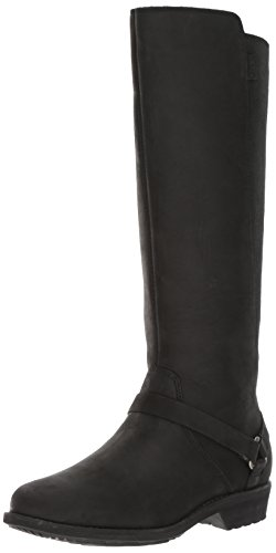 Vina Dos Tall Boot, Black, 9.5 M US ()