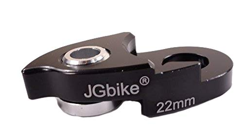 (JGbike Rear Derailleur Link 22mm Hanger Extender for 40T 42T 46T 50T Cassette)