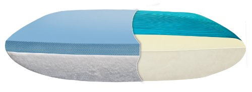 Broyhill Clima Comfort Gel Memory Foam Reversible Bed Pillow