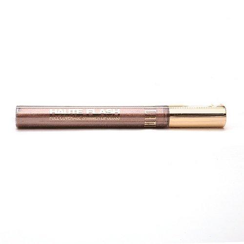 Milani Haute Flash Full Coverage Shimmer Lip Gloss, Golden Flash 105 0.18 oz (5 g)