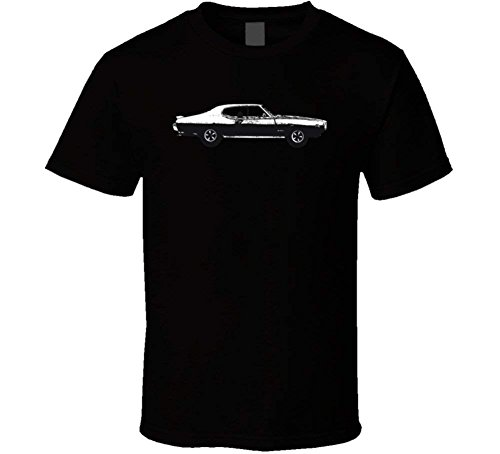 1969 Pontiac Gto The Judge 6 5L V8 B And W Vintage Car Lover Driver Gift T Shirt For Men