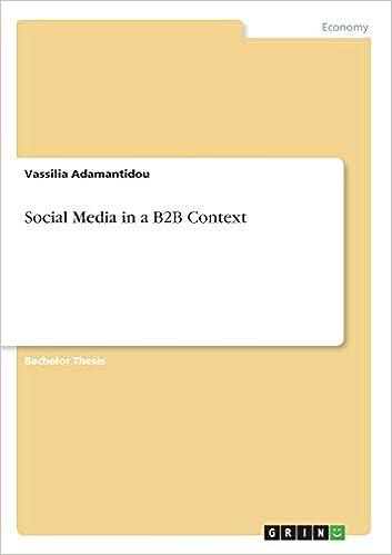 bachelor thesis social crm