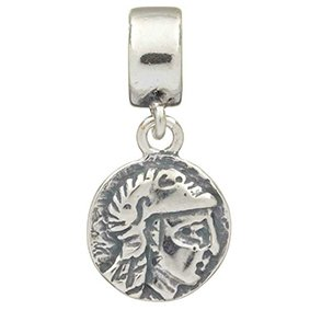 TEDORA ITALY 100% Hand-Made in Italy 925 Sterling Silver 'Coin - Import It  All