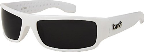 White Frame LOCS Hardcore Sunglasses