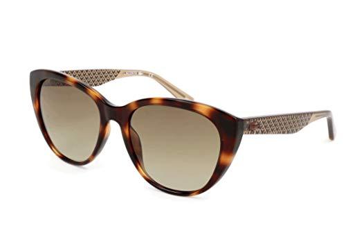 Lacoste Women's L832S Rectangular Sunglasses, Havana, 54 -