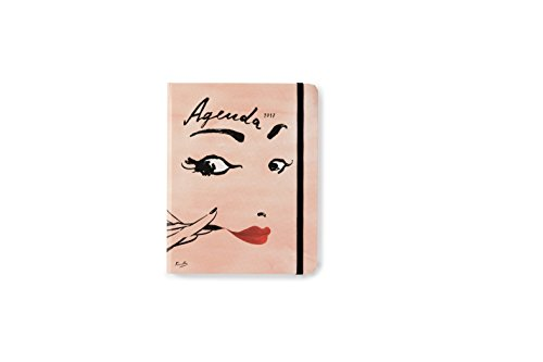kate spade new york Conceal Sprial 2016-17 Medium Agenda, Read My - Medium Agenda