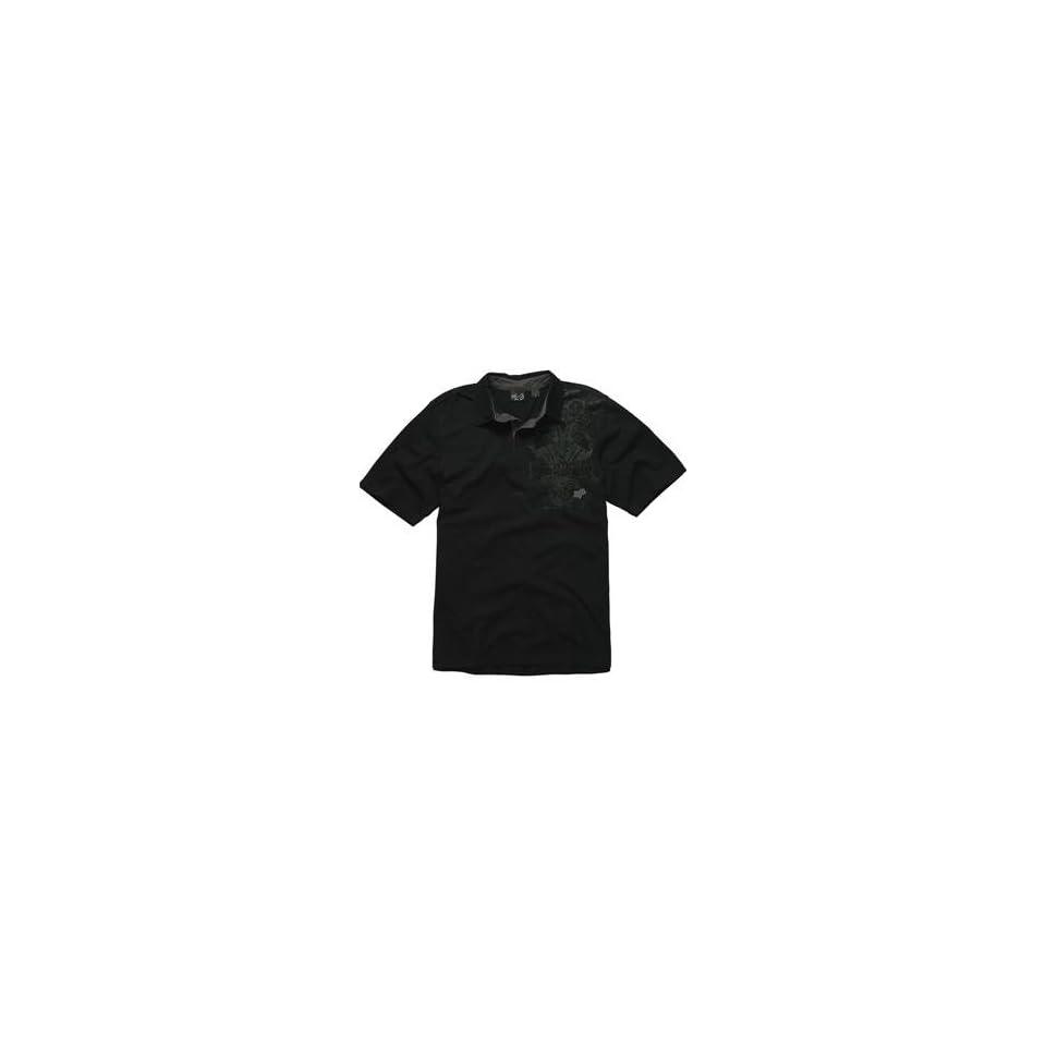 Fox Racing RSVP Polo Shirt   Medium/Black