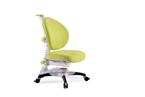ApexDesk Little Soleil DX Children's Height Adjustable Chair (Chair, Green) by ApexDesk