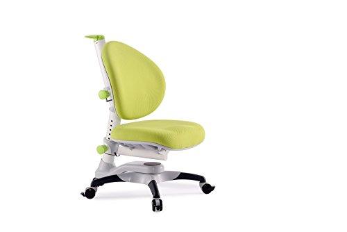 ApexDesk ALSC2533-GREEN Little Soleil DX Series Children's Height Adjustable Chair, Green