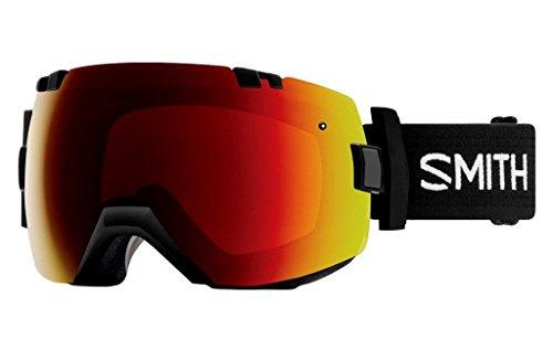 Smith Optics I/OX Goggle - Black Frame/ChromaPop Sun Red Mirror/ChromaPop Storm Rose - Smiths Optic