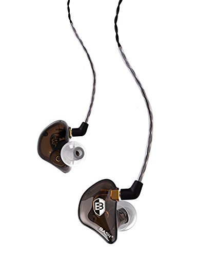 BASN BsingerBC100 Singer Headphones MMCX Detachable Cable, Noise Cancelling in-Ear Monitor Earphones