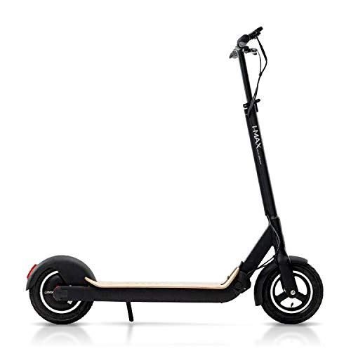 Magnum Premium IMAX S1+ Adult Electric Scooter – 500W, Large Capacity 48V/10A Lithium Battery – Easy Fold-n-Carry Design (Natural Wood) ()