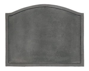 Minuteman International Plain Design Cast Iron Fireback, Large by Minuteman International