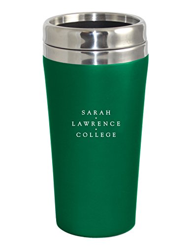 Fanatic Group Sarah Lawrence College Double Walled Travel Tumbler, Design 2 - Green by Fanatic Group (Image #1)