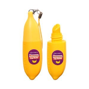 [TONYMOLY] Delight Dalcom Banana Lip Balm 7g [ Elizavecca ] Gold CF-Nest White Bomb Eye Cream 30ml