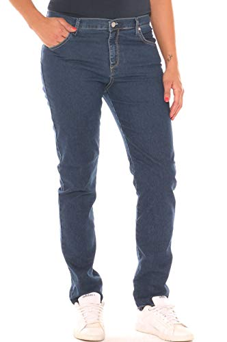 Donna Taglia Stretch A Sigaretta Morbida Jeans In Denim EUqUHC