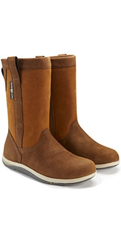 Henri Lloyd Shadow Boot in Brown - Unisex - Perfect Sailing and Yachting Boots with Waterproof Breathable Build