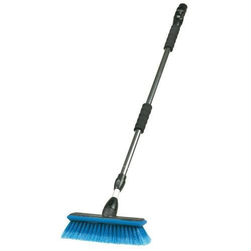 """Carrand 93089 Flow-Thru 10"""" Wash Brush with 68"""" Extension Pole"""