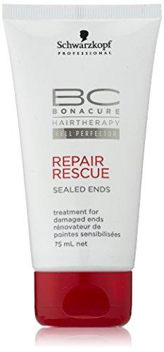 Schwarzkopf Bonacure Repair Rescue Sealed Ends Haarspitzenfluid, Tube mit 75 ml