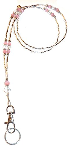 Totally Fab Fashion Women's Beaded Lanyard 34