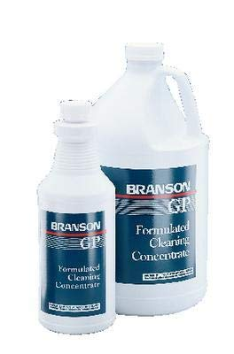 000-955-114 - Description : Industrial Strength Cleaning Solution - Ultrasonic Cleaning Solutions, Branson - Each(1 qt US)