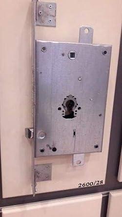 Secureme 2600 - Cerradura de seguridad para puertas blindadas o cerraduras de cilindro de perfil europeo