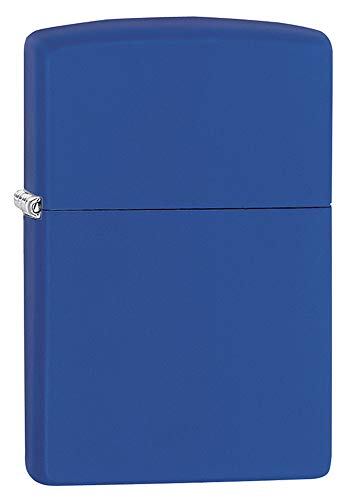 (Zippo 229 Pocket Lighter, Royal Blue Matte)