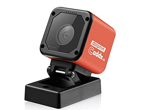Caddx Dolphin Starlight 1080P DVR HD Recording WiFi 150 Degree Mini FPV Camera Action Sport Cam for RC Drone - Red 1080P