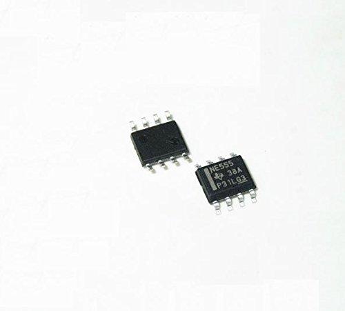 Exiron 50PCS NE555 555 SOP Timers TI IC NEW date code:12+