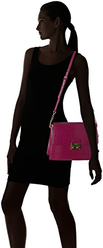 Klein Crocodile Zippers Women's Pomegranate with Dress Calvin Side S8UCwxcq