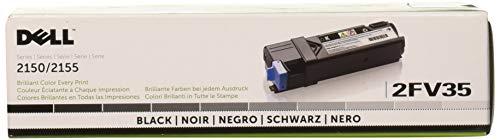 Dell Computer 2FV35 Black Toner Cartridge 2150cdn/2150cn/2155cdn/2155cn Color Laser ()