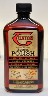 16 Oz Tuxton Lemon Oil Polish