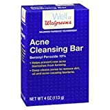 Walgreens Acne Cleansing Bar4 oz 3 pack