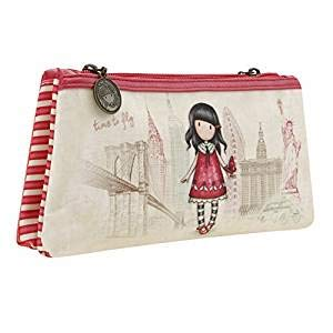 SANTORO LONDON GORJUSS TIME TO FLY DOBLE ZIP BOLSILLO + ...