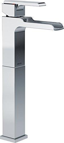 Delta Faucet Ara Single-Handle Waterfall Vessel Bathroom Faucet for Vessel Sinks, Chrome 768LF