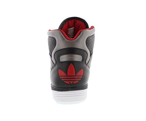 Scarpe Da Uomo Adidas Court Pro Taglia Nero / Rosso
