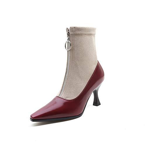 Femme Bordeaux Compensées Balamasa Sandales Abm13846 I4Bxq6Ytw