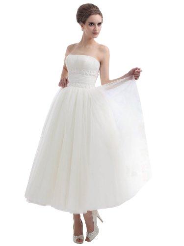 linie aus Süß A Hochzeitskleid Traumhaftes Organza Ballkeid XrXvxE6q