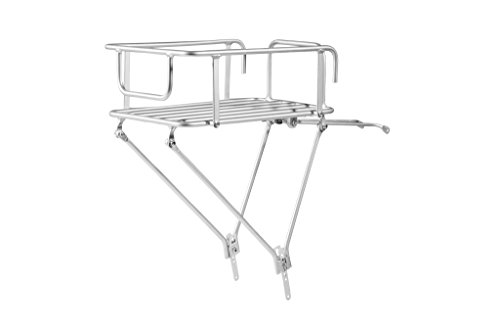 Pure Cycles Urban Rear Bike Cargo Rack, Silver