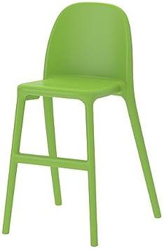 Ikea Urban Chaise Haute Pour Enfant En Vert Amazon Fr