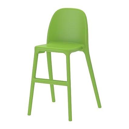 IKEA Urban alta sillas en verde: Amazon.es: Hogar